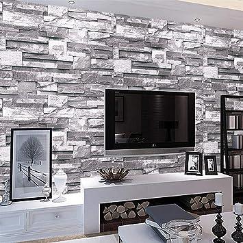 Multiware Papier Peint Pierre Brique 3d Pour Chambre Salon Tv