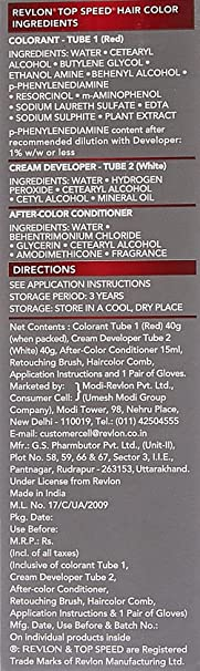 Revlon Top Speed Hair Color Man, Natural Black 70: Amazon in