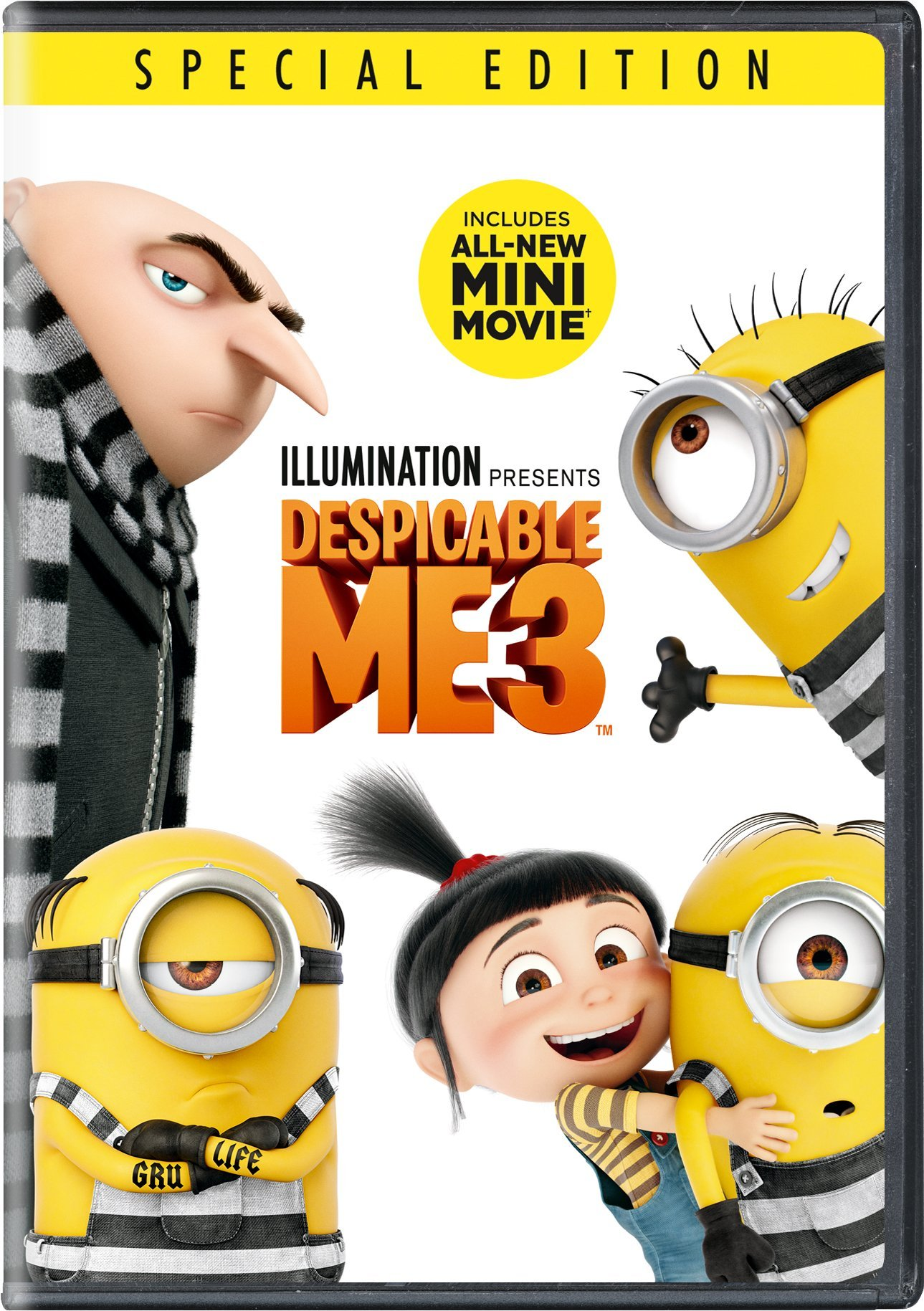 DESPICABLE3 DVD