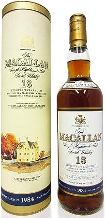 Macallan - Single Highland Malt - 1984 18 year old Whisky