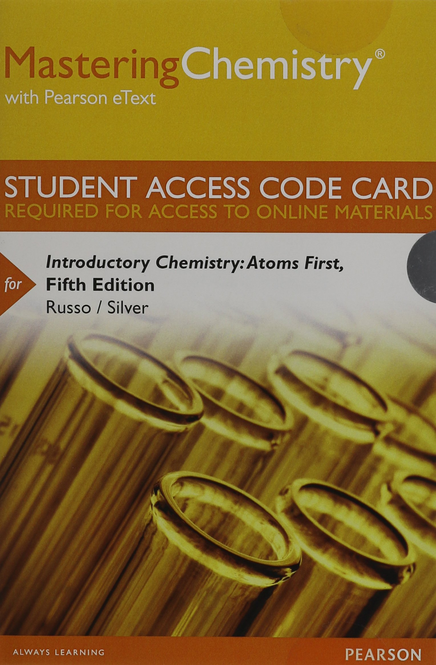 Mastering Chemistry with Pearson Etext -- Standalone Access Card -- For Introductory  Chemistry: Atoms First: Steve Russo, Michael E Silver: Amazon.com.mx: ...