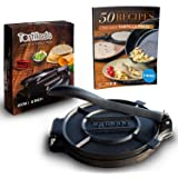 Tortillada – Premium Cast Iron Tortilla Press with Recipes E-Book (20cm)