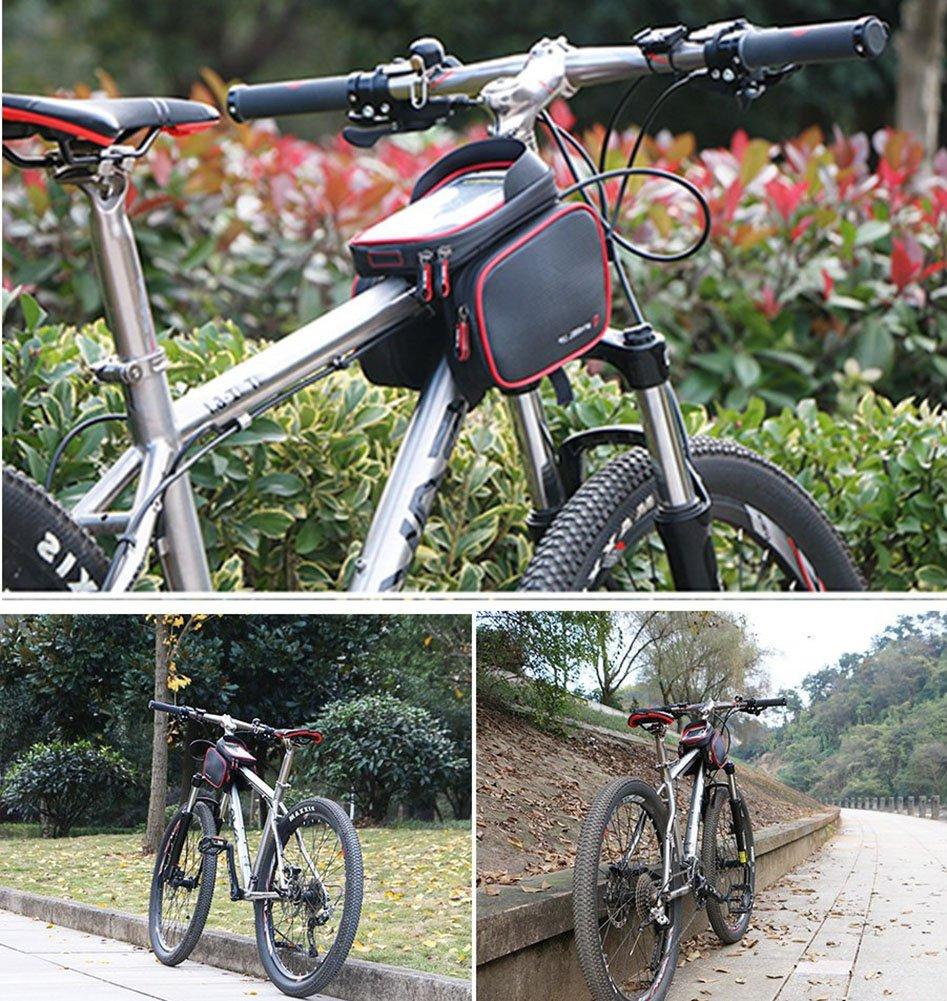 Fahrrad-Beutel-Telefon-Halter, Fahrrad-Rahmen-Beutel imprägniern ...