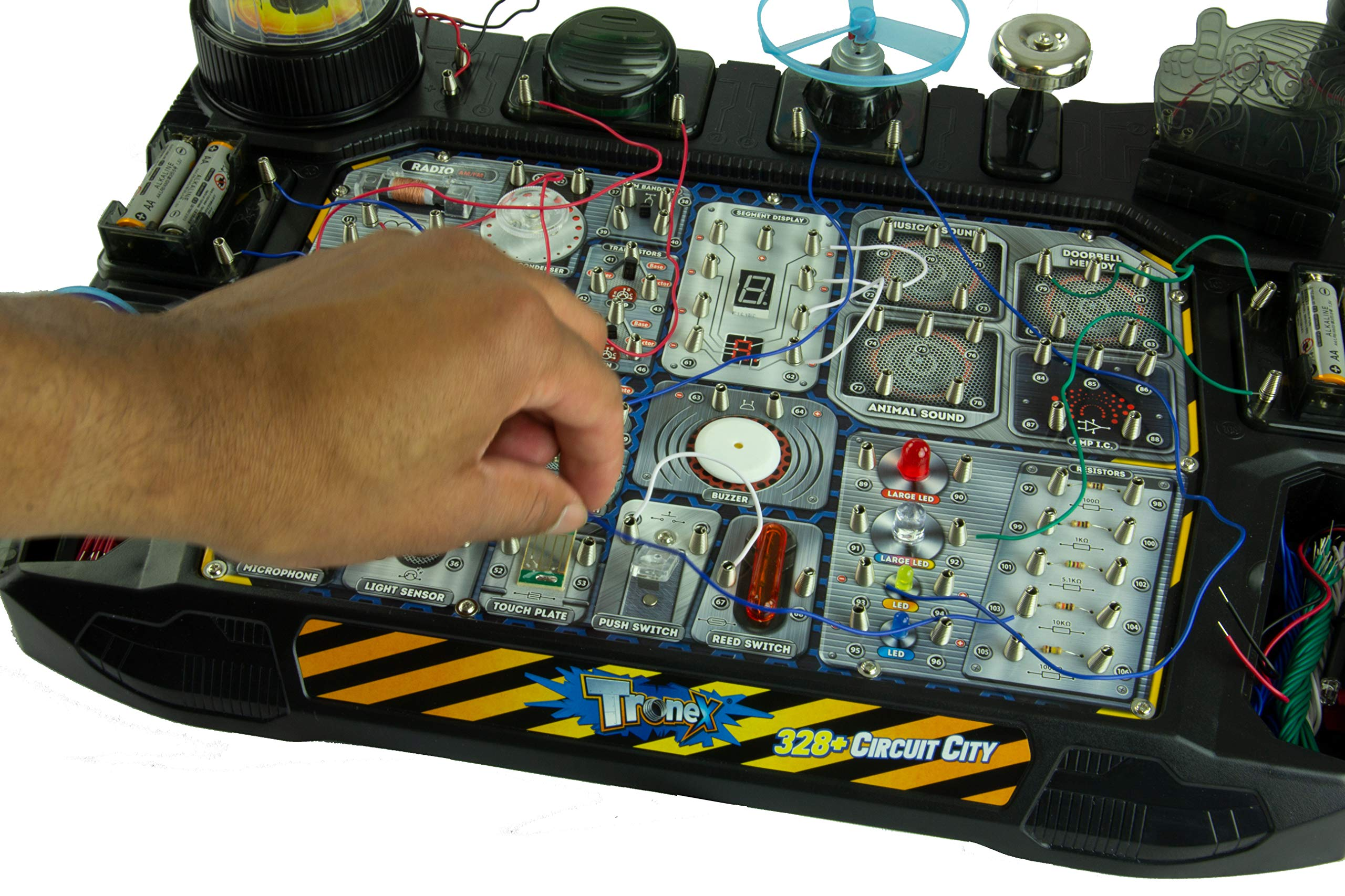 Tronex Circuit City | Over 328 STEM Projects | Educational Circuit Board Toy