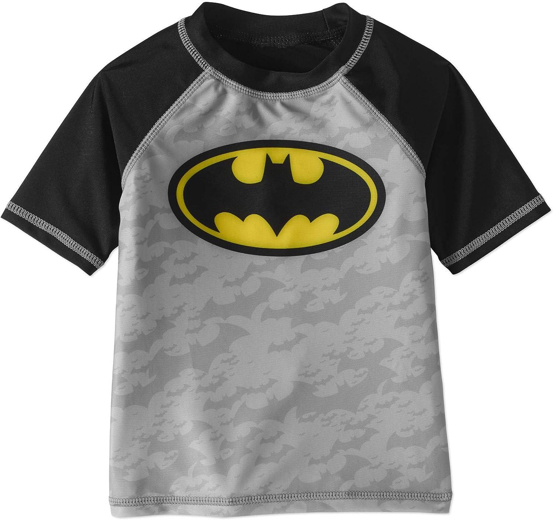 DC Comics Boys Batman Swimsuit Multicoloured Age 2 to 3 Years