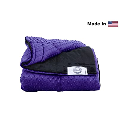 Luxury Weighted Blanket Made In Usa Many Sizes Colors Better