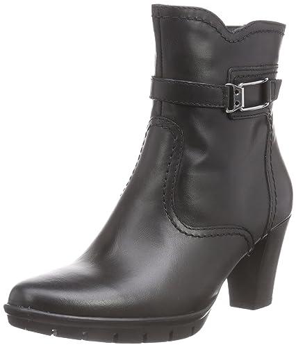 Tamaris 25009, Damen Kurzschaft Stiefel, Schwarz (Black 001), 36 EU (