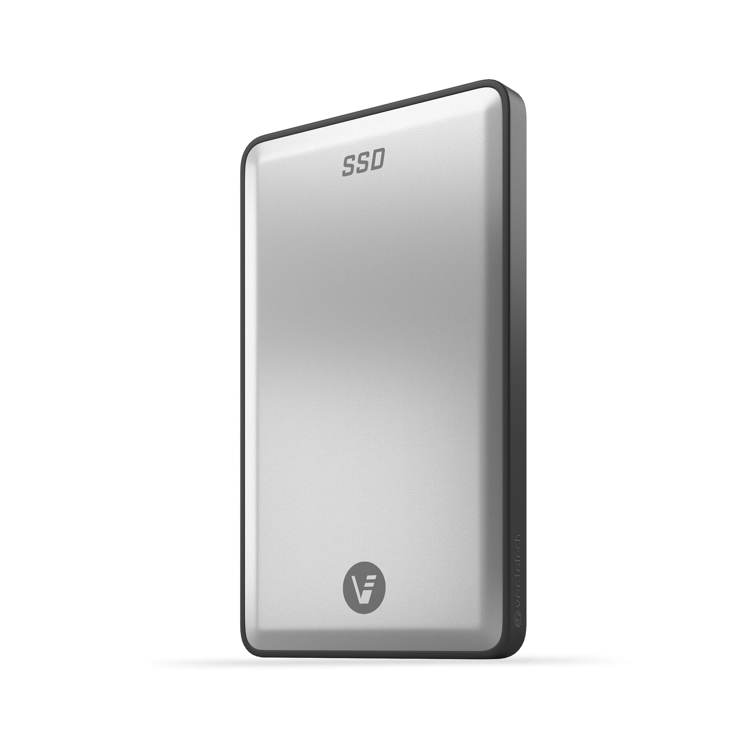 VectoTech Rapid 2TB External SSD USB-C Portable Solid State Drive (USB 3.1 Gen 2) by VectoTech