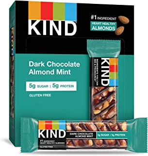 product image for KIND Nuts and Spices, Dark Chocolate Almond Mint, 4 Count (Pack of 12)