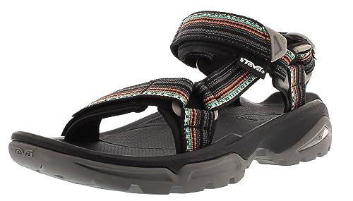 d38d7dee Teva W Terra Fi 4, Sandalias de Punta Descubierta para Mujer, (Manta Black  Lmbl), 36 EU: Amazon.es: Zapatos y complementos