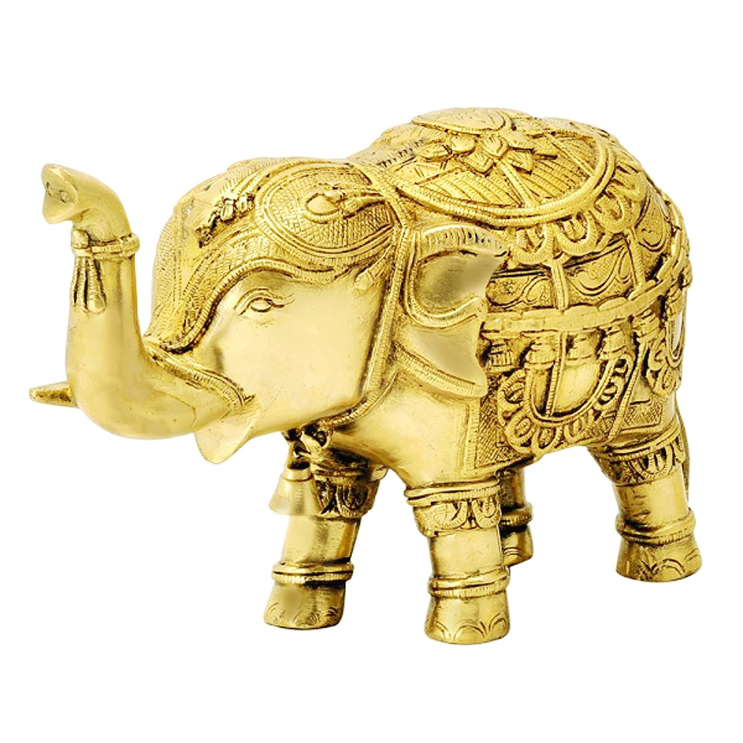 Buy itos365 brass trunk up elephant statues showpiece metal statue buy itos365 brass trunk up elephant statues showpiece metal statue lucky figurine home dcor gifts item online at low prices in india amazon biocorpaavc Images