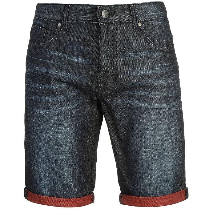 e21a9cfa75 Firetrap Hombre Turn Up Denim Shorts Pantalones Cortos Ropa Vestir Casual  Multicolor Small  Amazon.es  Ropa y accesorios