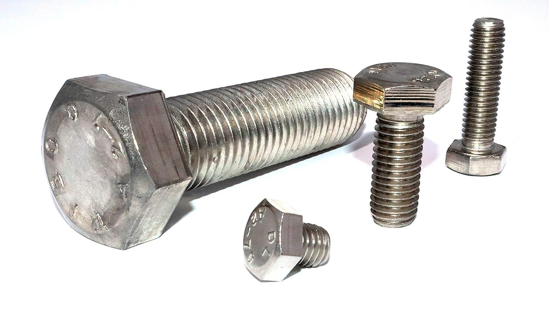 Sechskantschrauben M8x65 DIN 933 Edelstahl A2 St/ückzahl 30 Vollgewindeschrauben Feststellschrauben