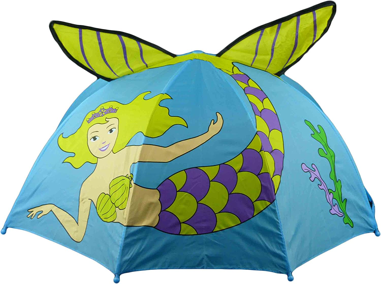 3D enfants parapluie enfants parapluie Grenouille papillon coccinelle Sir/ène Meerjungfrau