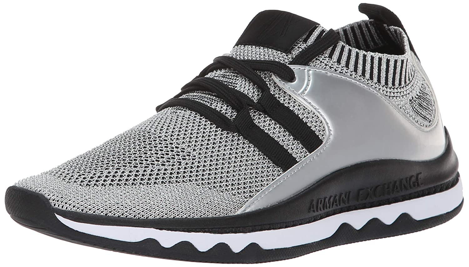 Armani Exchange Low-Top Sneaker, Zapatillas para Mujer