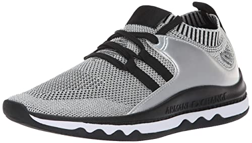 Armani Exchange Low-Top Sneaker, Zapatillas para Mujer: Amazon.es: Zapatos y complementos