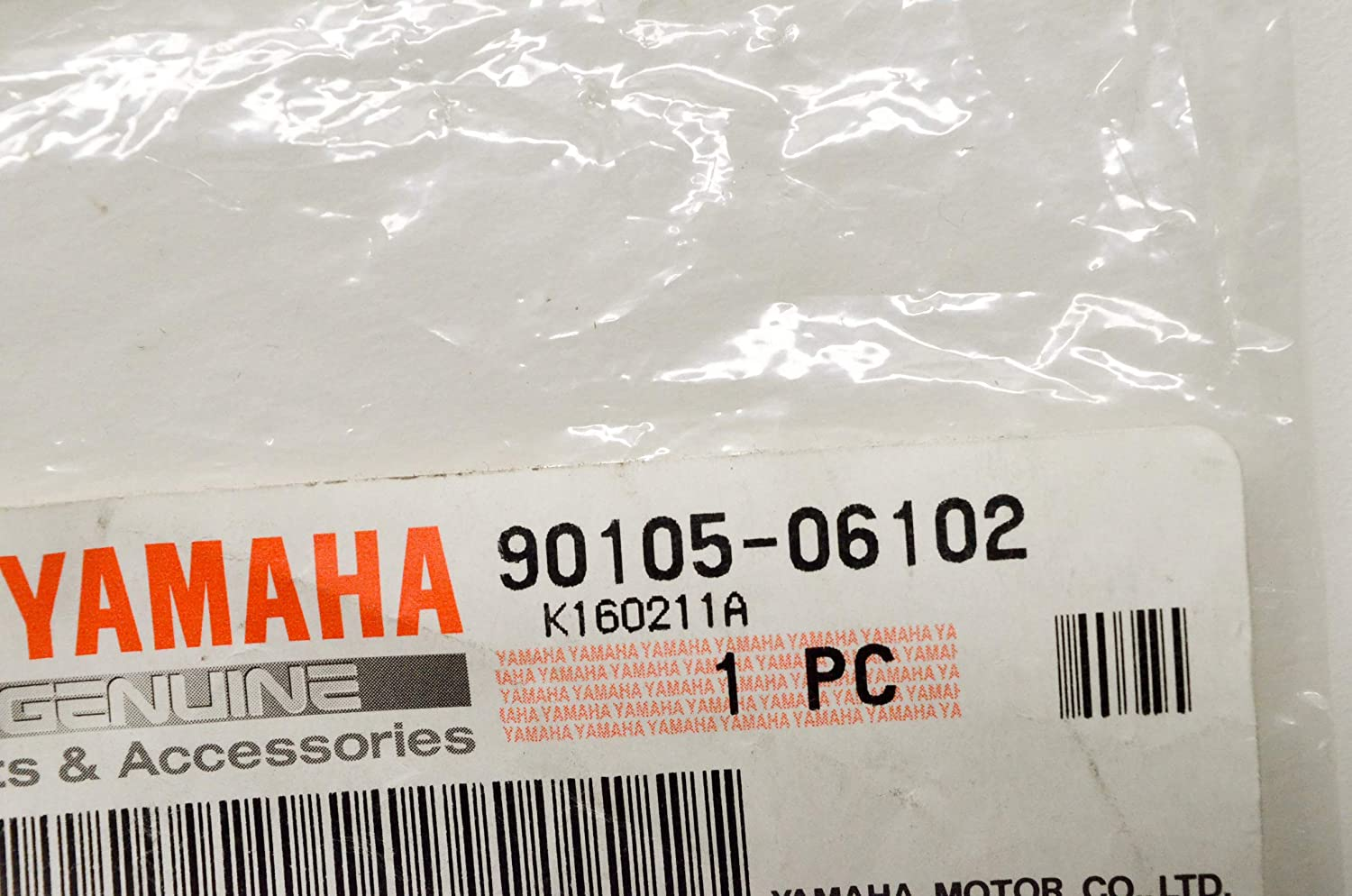 Flange; 901050610200 Made by Yamaha Yamaha 90105-06102-00 Bolt