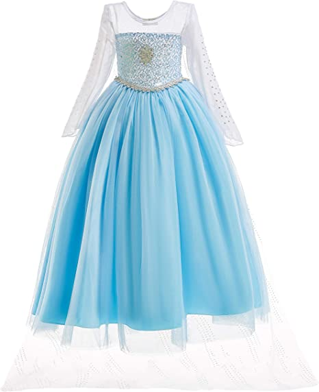 ELSA & ANNA UK1stChoice-Zone Princesa Disfraz Traje Parte Las ...