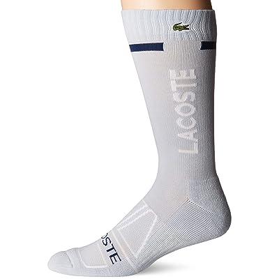 Lacoste Men's Sport Training Crew Socks W/Compression: Clothing