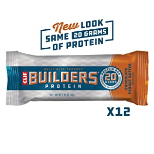 Clif Builder Chocolate Peanut Butter Flavor