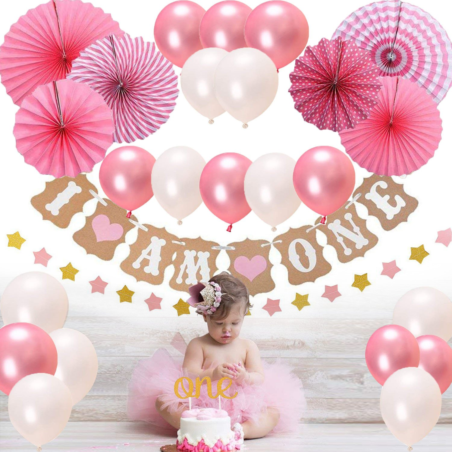 First Birthday Decorations For Girl Boy