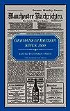 Germans in Britain Since 1500