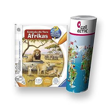 Libro Ravensburger Animales AfricaNiños De La Tiptoi Descubre WQrCxBoed