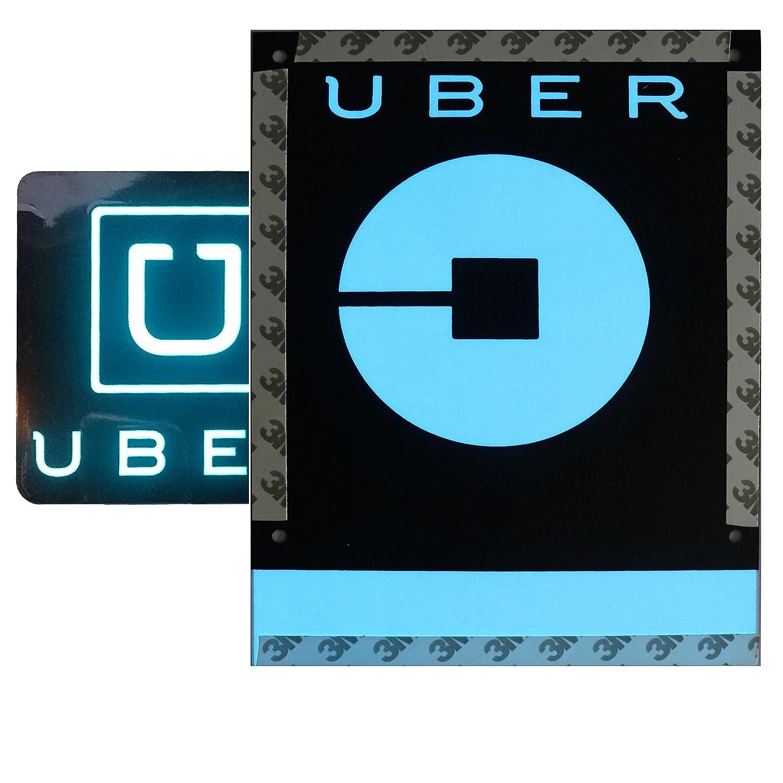 RUN HELIX Uber Sign Light with NEW Uber Logo Uber EL Car Sticker Glow Light Sign Decal On Window With DC12V Inverter Uber-EL-LIGHT-002