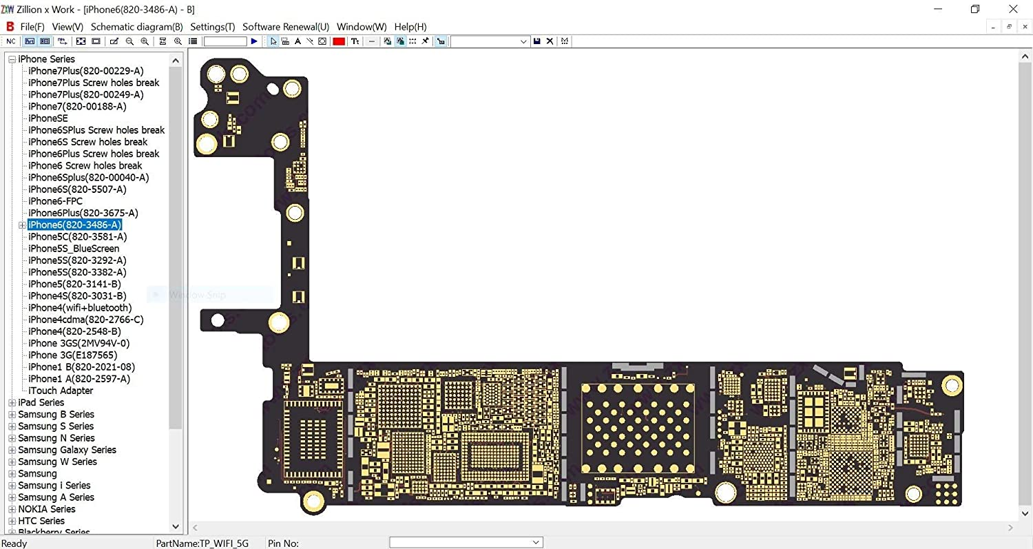 Zxw Dongle With Video Installation Guide English Iphone 5 Circuit Diagram Pictures Version 26 2018 Usb Tool Pcb Layout Schematic Pad Drawing For Latest Ipad