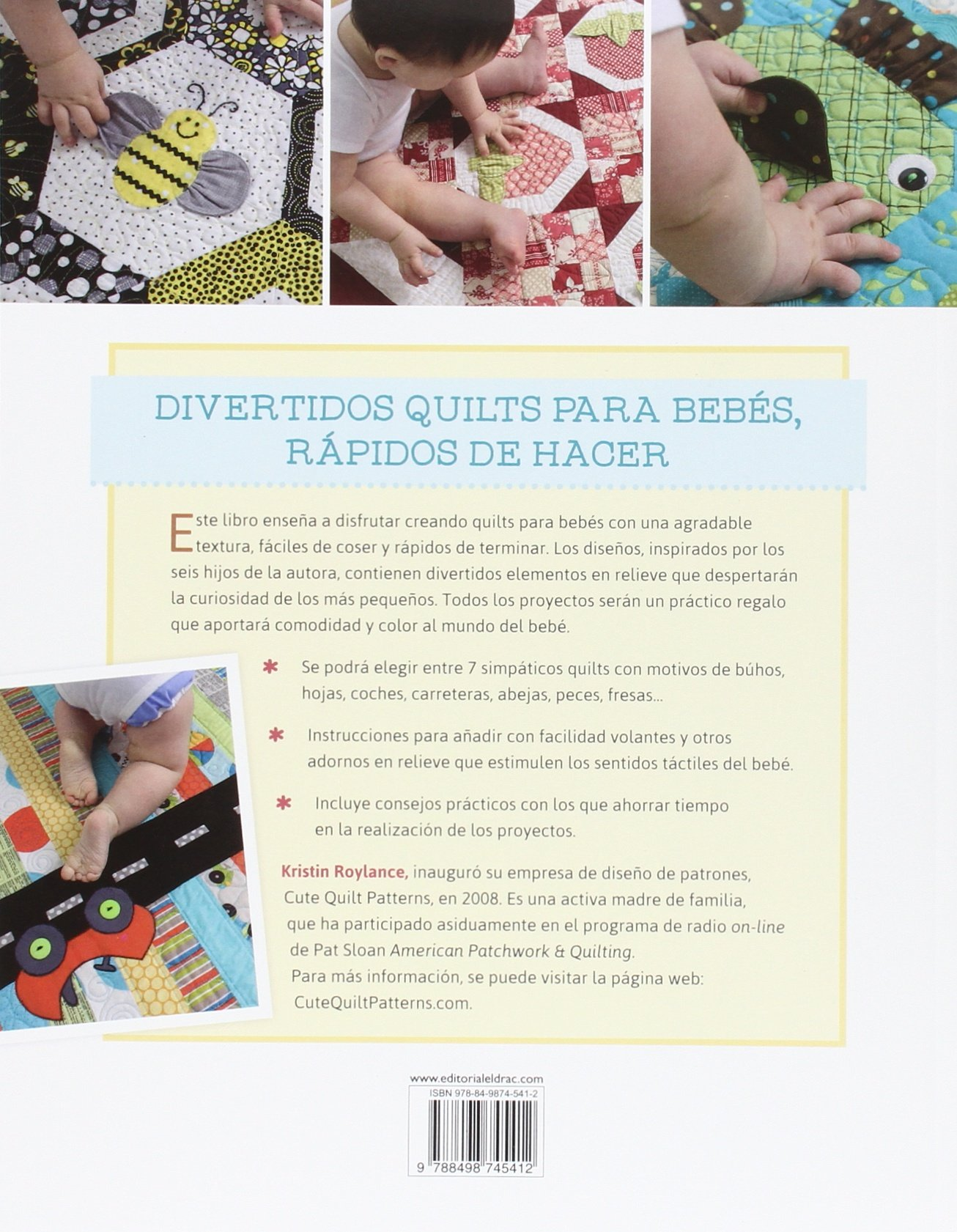 Originales Quilts Para Bebés: Amazon.es: Kristin Roylance, Laia ...