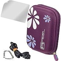 PEDEA Hardcase pokrowiec na aparat do HP PhotoSmart E317 / Nikon Coolpix P310 / Canon PowerShot SX610 HS, SX710 HS…
