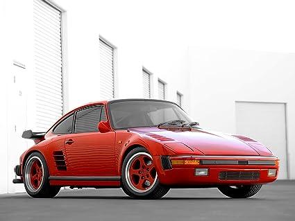 Ruf Porsche 911 Turbo Slantnose (1986) Car Art Poster Print on 10 mil Archival