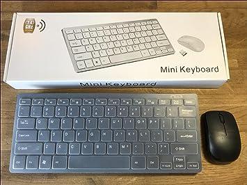 Teclado y ratón inalámbricos para LG Smart TV, Color Negro: Amazon.es: Electrónica