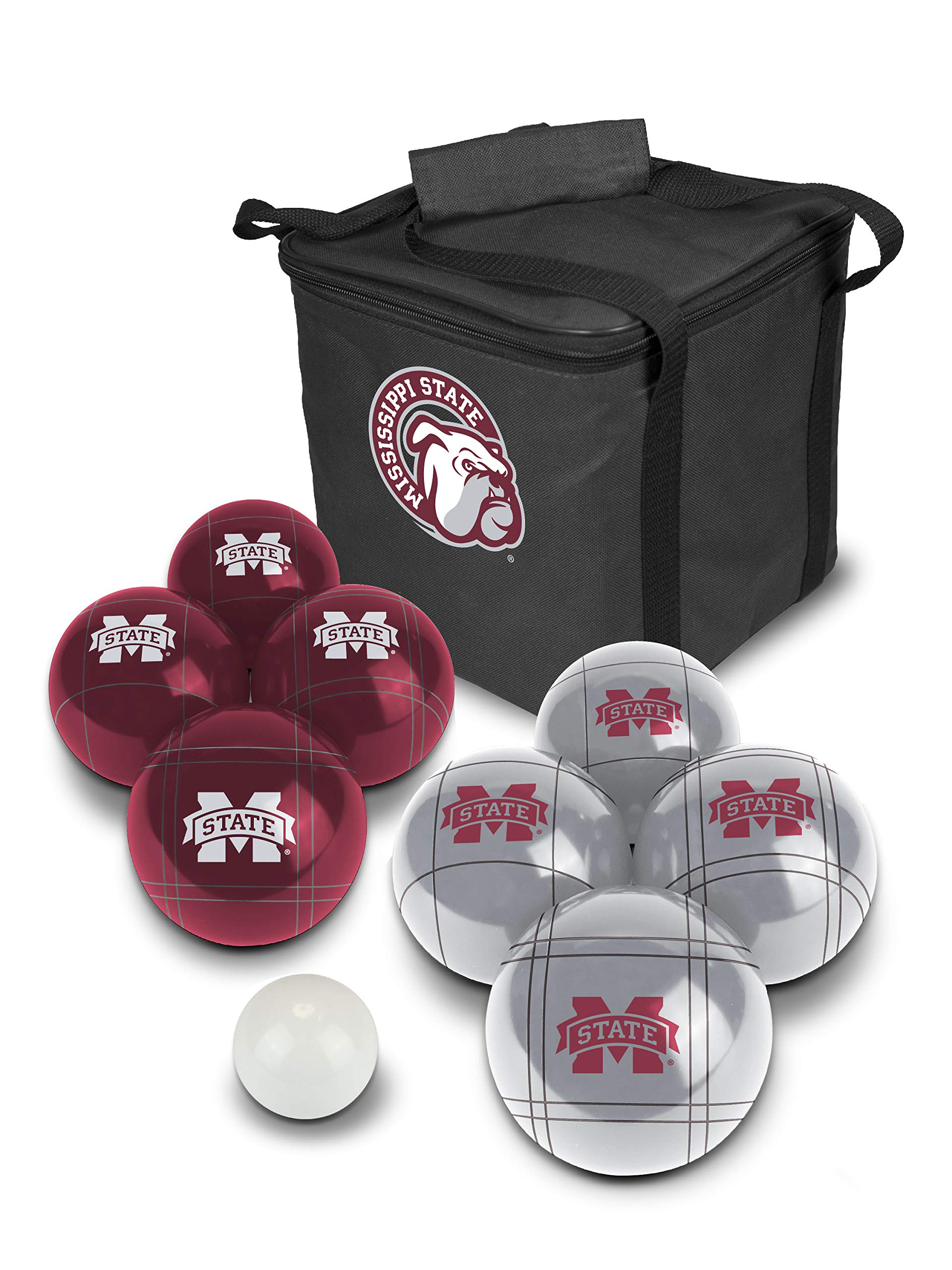 PROLINE NCAA College Mississippi State Bulldogs Bocce Ball Set by PROLINE