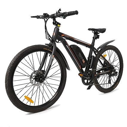 Amazon.com: ECOTRIC - Bicicleta eléctrica de viaje para ...