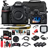 Nikon D850 DSLR Camera (Body Only) (1585) + 64GB Memory Card + Case + Corel Software + 2 x EN-EL 15 Battery + LED Light + HDM