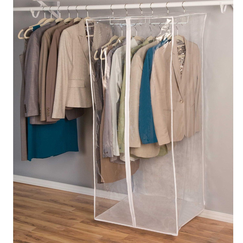 & Amazon.com: Closetware Clear Jumbo Dress Bag: Home u0026 Kitchen