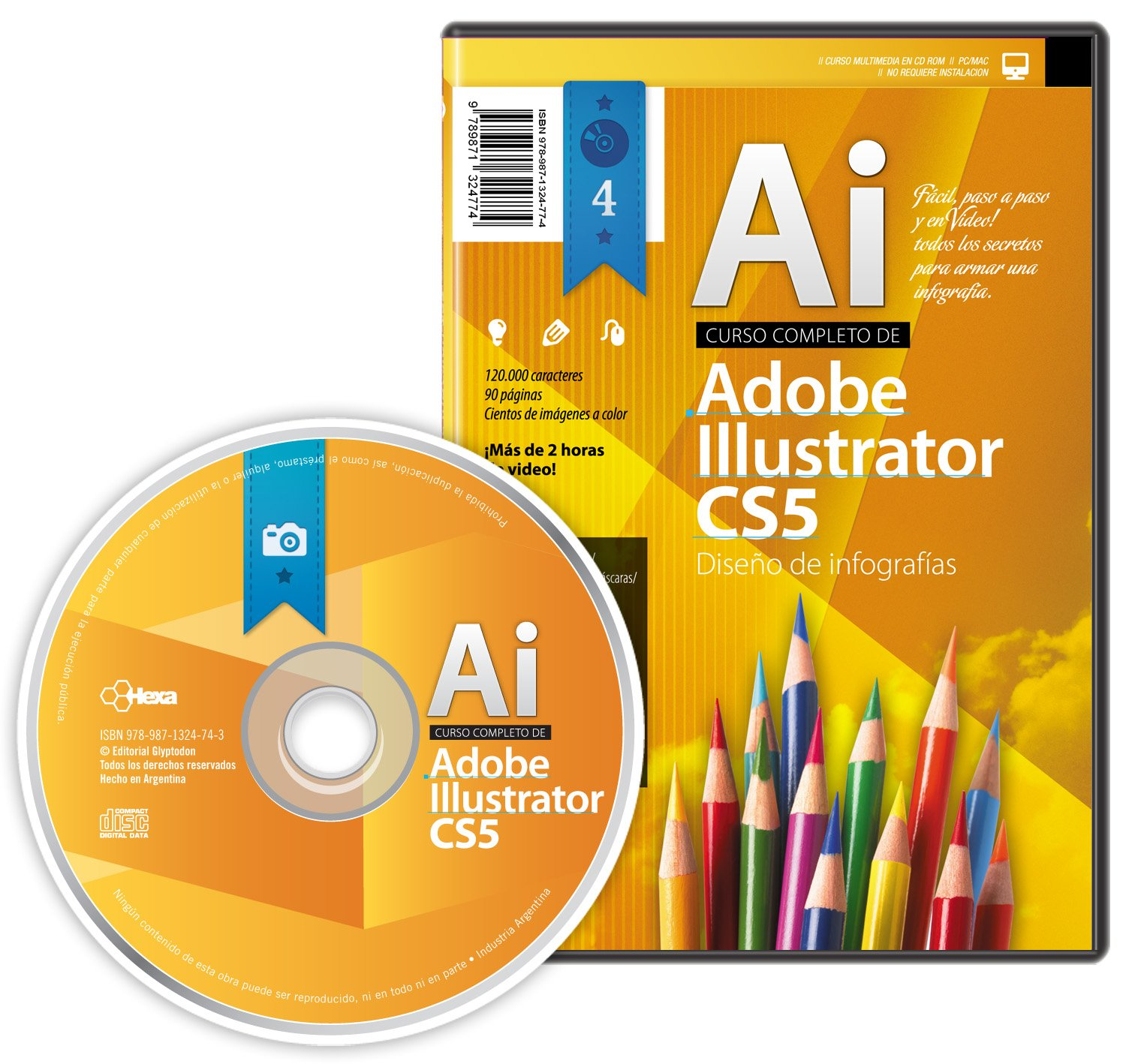 Adobe Illustrator CS5, Armado de infografias (Spanish Edition): Daniel Maldonado, Editorial Glyptodon: 9789871324774: Amazon.com: Books