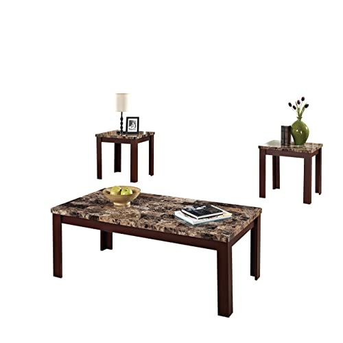 Square Marble Top Coffee Table: Amazon.com