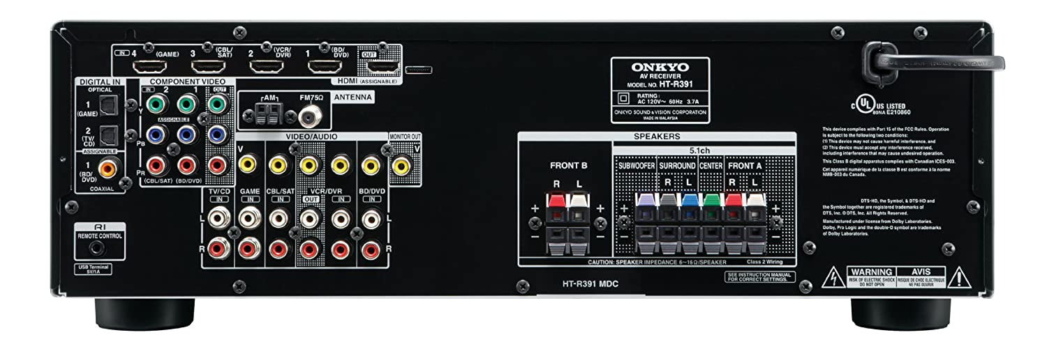 81tV90qyLPL._SL1500_ amazon com onkyo ht s3500 660 watt 5 1 channel home theater  at nearapp.co