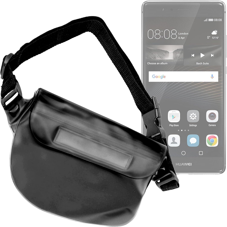 DURAGADGET Riñonera Sumergible para Smartphone Huawei P9 / P9 Plus / P9 Lite: Amazon.es: Electrónica