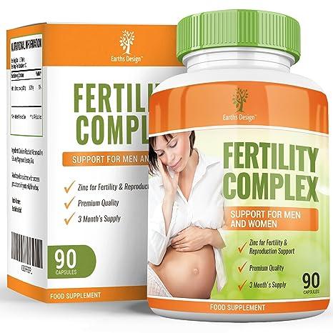 Vitaminas para Fertilidad - Suplemento Para Hombres y Mujeres - Con Zinc, Magnesio, Hierro