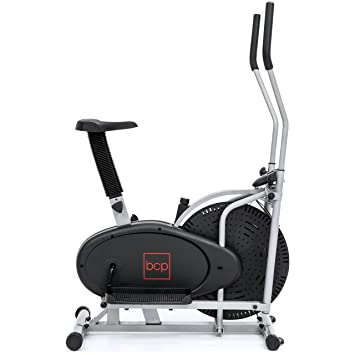 Amazon.com : Best Choice Products Elliptical Bike 2 In 1 Cross Trainer Exercise Fitness Machine Home Gym Workout : Sports & Outdoors