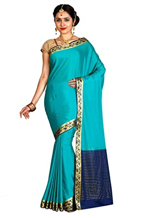 750ae529c57 arars Crepe Silk Saree Mysore Silk Saree ( CRP02 RAMA ) at Amazon ...