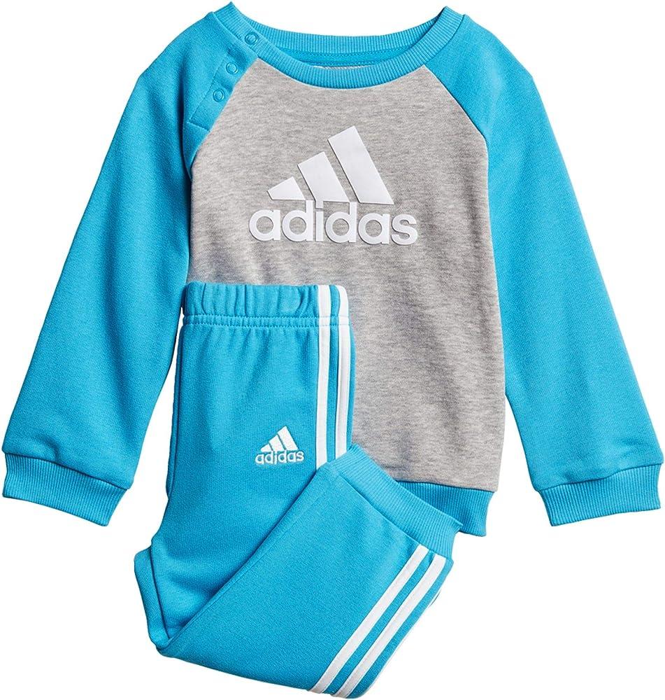 adidas Crew Jogger Chándal, Unisex Infantil, (Medium Grey Heather ...