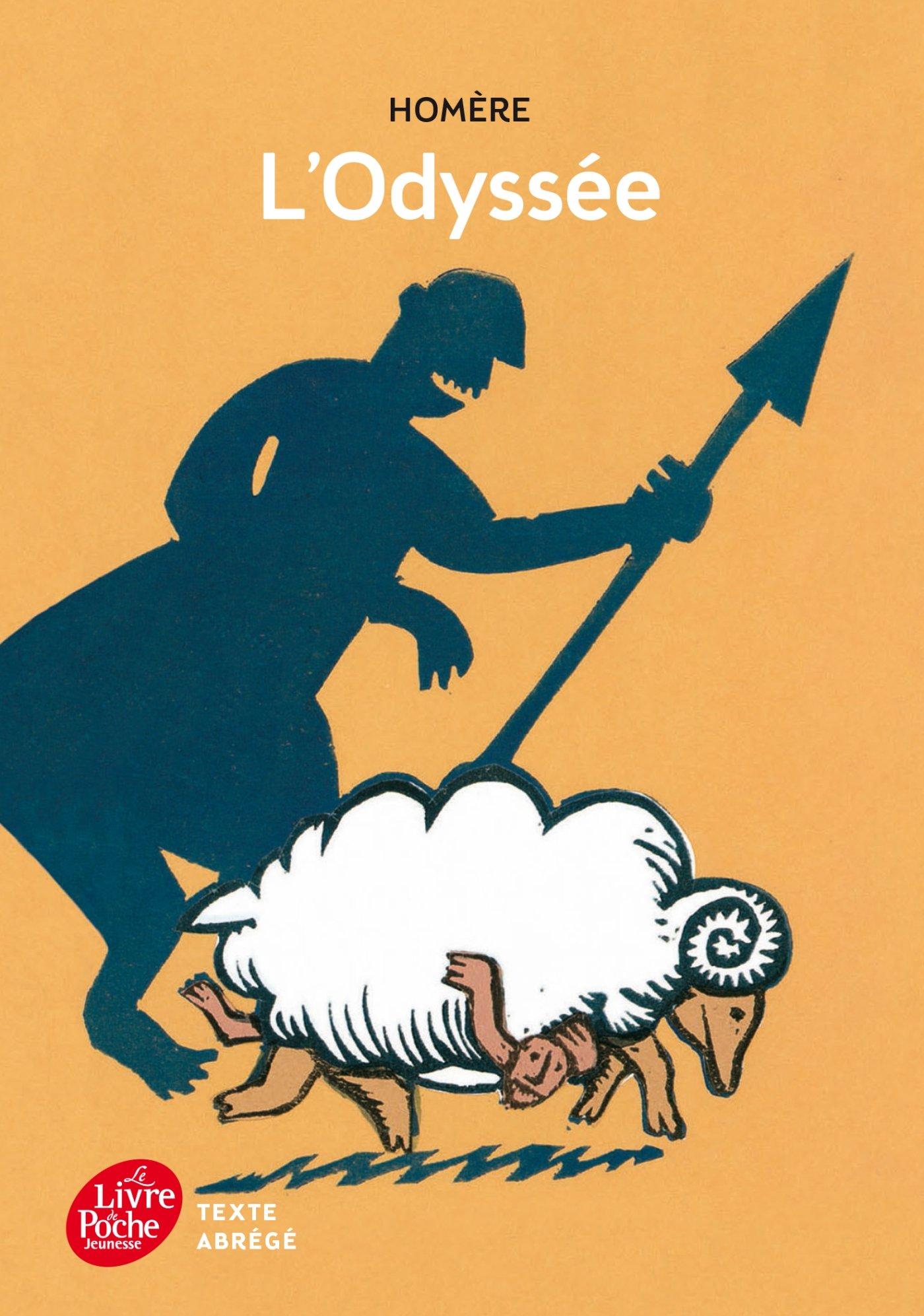 L Odyssee Texte Abrege Homere 9782010015748 Amazon Com