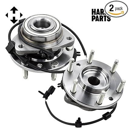 amazon com wheel hub bearing assembly 2 chevy trailblazer gmc