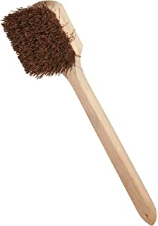 Natural 18 Overall Length 2-1//2 Head Width Weiler 42022 Palmyra Fiber Garage Brush with Wet Or Dry Sweeping