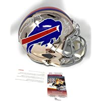 $549 » Jim Kelly Andre Reed Thurman Thomas Buffalo Bills TRIPLE Signed Autograph RARE CHROME…