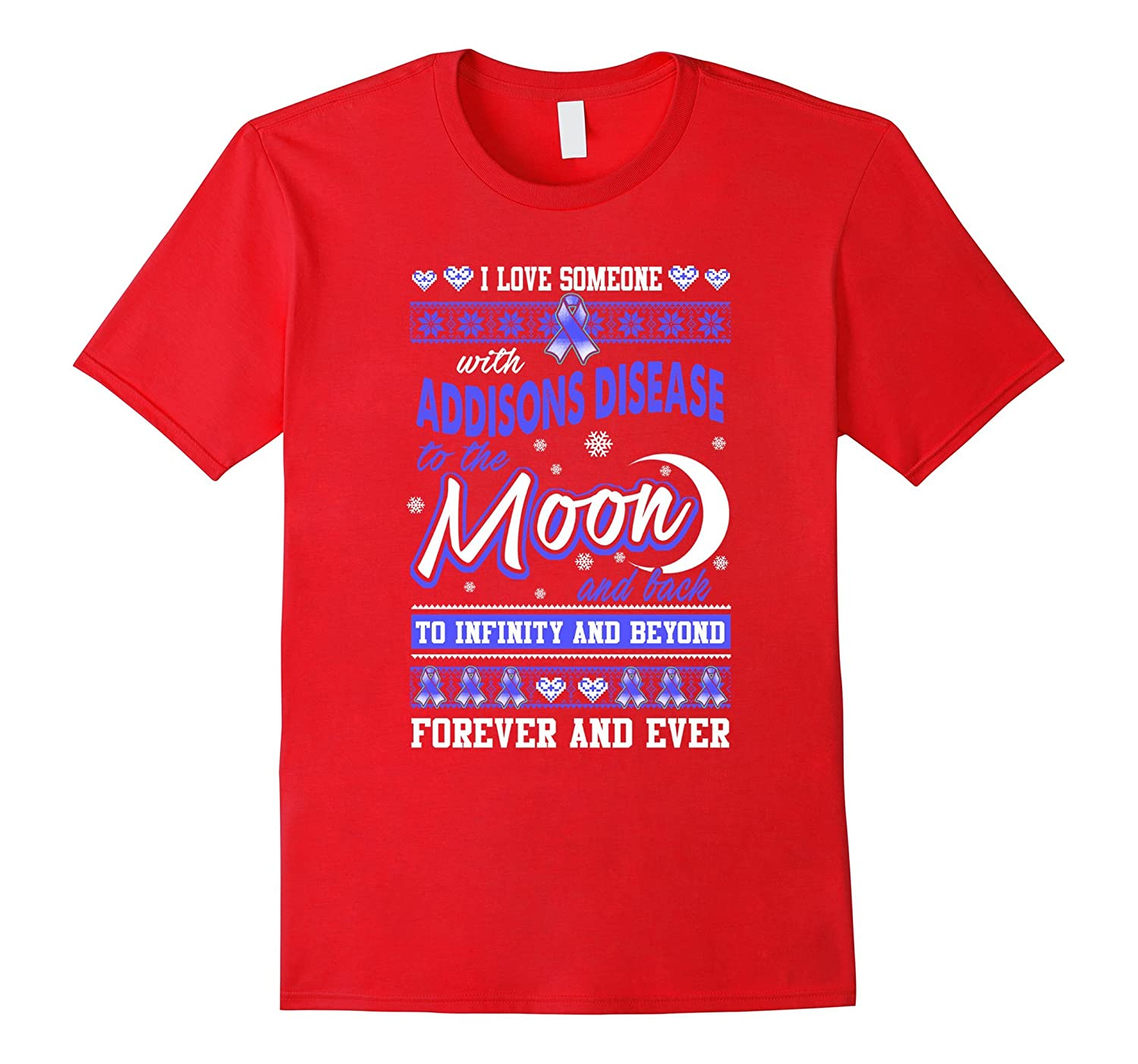 Addisons Disease Christmas T Shirt-BN